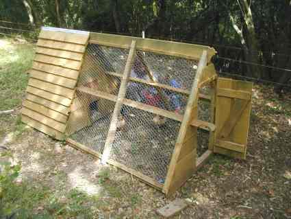 Stall tragbares hühnerhaus